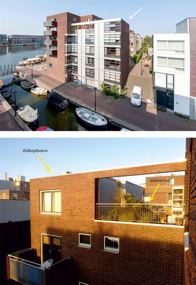 huisuitbreiden dakopbouw amsterdam